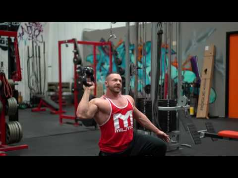 How to Perform the Bell-Up Unilateral Kettlebell Shoulder Press