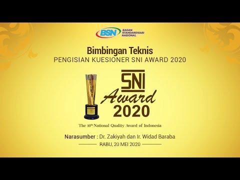 https://youtu.be/lRVYVNgiX-QBimbingan Teknis Pengisian Kuesioner SNI Award 2020