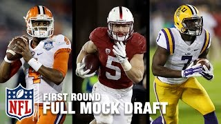 2017 Full First Round Mock Draft (Pre-Combine) | Move the Sticks | NFL NOW