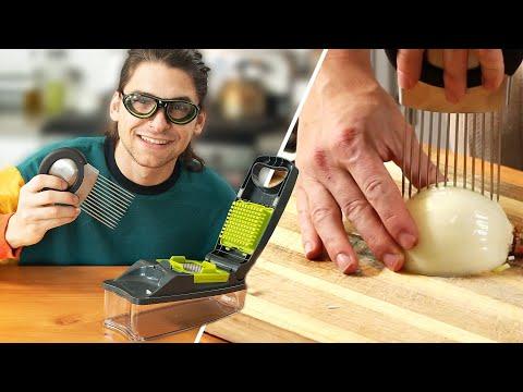 I Tried Onion Chopping Gadgets ? Tasty
