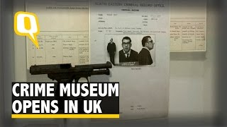 Scotland Yard's 'Black Museum' on Notorious Crimes Opens in UK