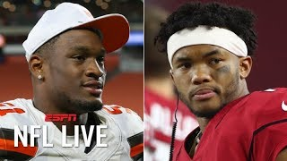 Kyler Murray and other rookies who have stood out in training camp | NFL Live