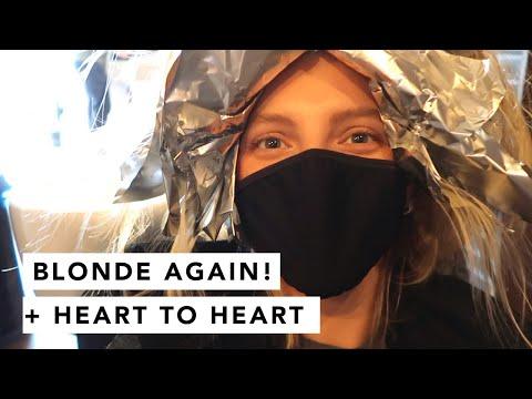 FIRST HAIR APPOINTMENT + Q + A | Estée Lalonde