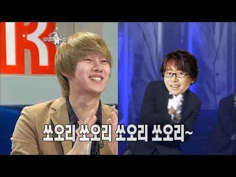 【TVPP】Hee-Chul(SuperJunior)- Radio Star first MC day, 희철 - 라스 객원 MC 시절, 빵빵 터뜨리는 TV 덕후 @Radio Star