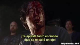 Negan mato a Glenn - The Walking Dead Temporada 7
