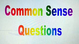 Common Sense Questions | Time Pass | Riddles In Hindi | IQ Test In Hindi | V No. 238