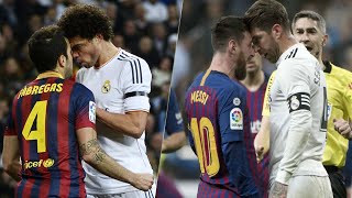 When Players Lose Their Cool (Real Madrid vs Barcelona)