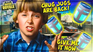 STEALING *NEW* MYTHIC CHUG JUG FROM ANGRY NOOB IN FORTNITE SEASON 3! (ProPepper Fortnite Trolling)