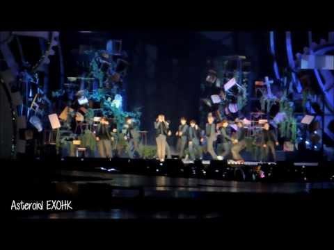 [Fancam] 131122 MAMA VCR+Intro+EXO Growl Remix+ Kai & Luhan Dance Solo