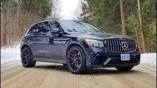 2019 AMG Mercedes GLC 63s Review // Compact SUV with Turbo V8