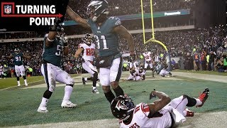 Battle of the Birds Ends with a Clutch Red Zone Stop (NFC Divisional Round) | NFL Turning Point