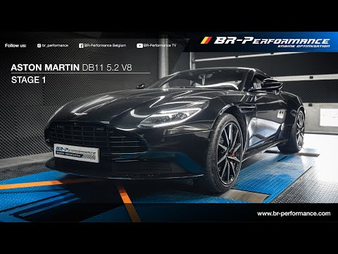 Aston Martin DB11 V8 / Stage 1 By BR-Performance
