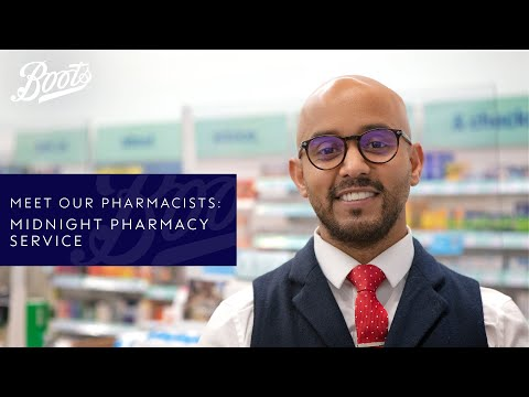 boots.com & Boots Voucher Code video: Meet our Pharmacists | Midnight pharmacy service | Boots UK