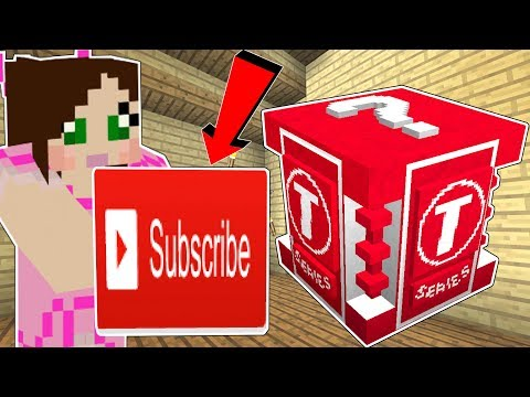 Minecraft: THE WORST LUCKY BLOCK IN HISTORY!!! (T-SERIES LUCKY BLOCK!) Mod Showcase