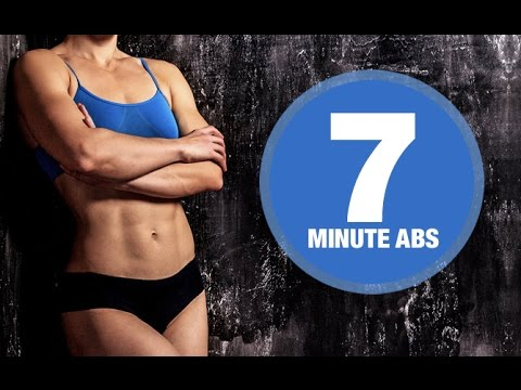 "7 Minute Ab Workout (""UNBEARABLE"" ABS!!)"