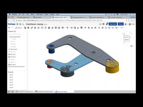 Webinar | Top-Down Design Techniques in Onshape (March 7th, 2017)