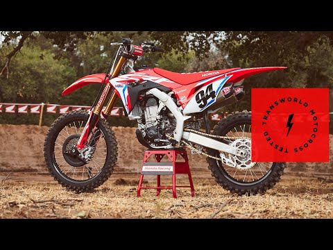 Technical Briefing Of The 2019 Honda CRF450R Works Edition