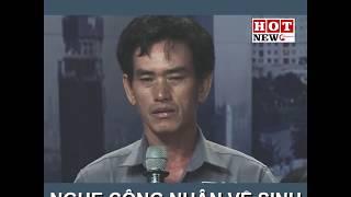 Chia sẻ của công nhân vệ sinh Ngô Chí Hùng khiến các đại biểu nghẹn ngào   HOTNEW