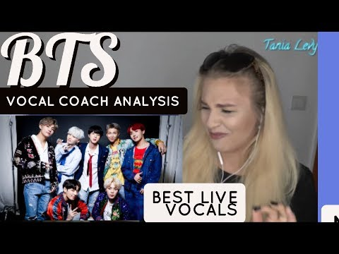 VOCAL COACH | ANALYSIS|  BTS방탄소년단  BEST LIVE VOCALS