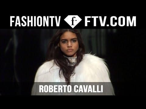Roberto Cavalli Fall/Winter 2015 | Milan Fashion Week MFW | FashionTV