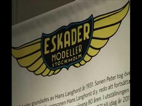 ESKADER. Svensk modellhistoria 80 år.