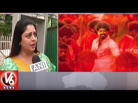 Reverse Count started for BJP Govt : Nagma Reacts on Mersal