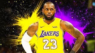 LeBron James Joins Lakers with Lonzo Ball (If LeBron James Joined the Lakers)
