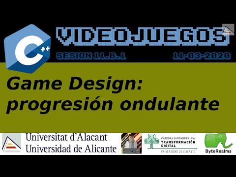C++ : Game Design, progresión ondulante