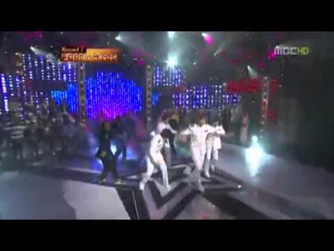 Hyoyeon: Eunhyuk, Leeteuk, Taemin, & Heechul