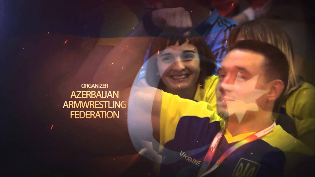 European Armwrestling Championship 2014 – Baku, Azerbaijan