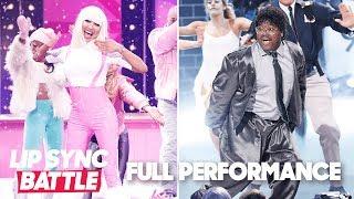 "Lil Rel Howery's  ""Ghostbusters"" vs. Naya Rivera's ""Barbie Girl"" | Lip Sync Battle"