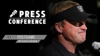 Coach Gruden Postgame Presser - 11.7.19 | Raiders