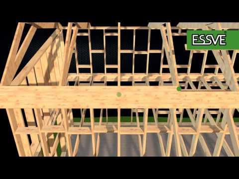 K-rauta - Takläggning av Essve del 1 - Råspont