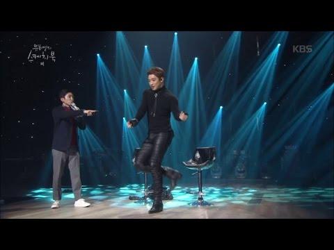 유희열의 스케치북 - 비가 설명해주는 박진영, 양현석의 춤! 완벽 재연!.20170114