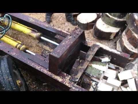 Green Monster Log Splitter
