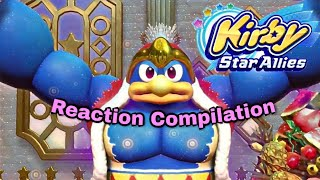 Kirby Star Allies - Nintendo direct 9.13.2017 - Reaction Compilation