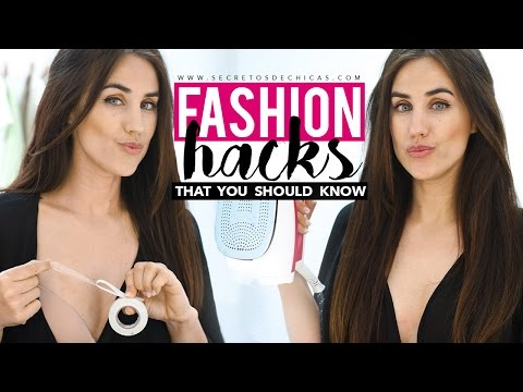 Fashion hacks that you should know | Clothing hacks for girls | Patry Jordan