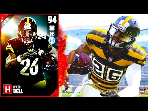 MOTM LEVEON BELL IS A MONSTER... OR A B!TCH? - Madden 17 Ultimate Team New Music Video