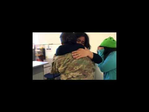 Khi những nữ chiến sĩ trở về nhà
