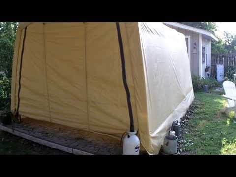 inspirational harbor freight portable garage product review set up portable shelter 504