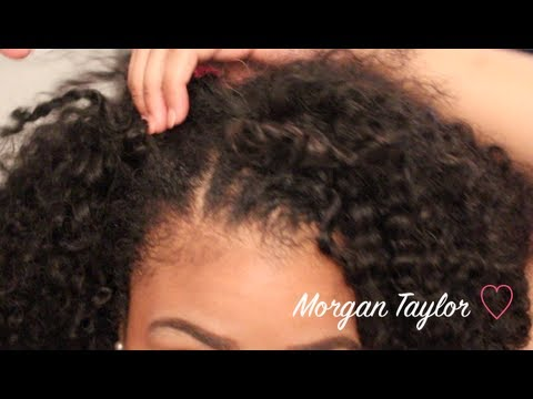 Blending Kinky Curly Weave With Natural Hair