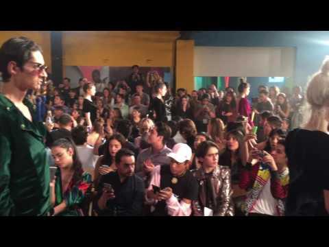 Cierre de Pasarela Ivan avalos en MBFWMx 2016