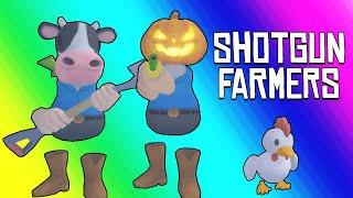 Shotgun Farmers Funny Moments - Fighting for Custody on Halloween!