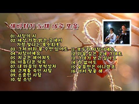 해바라기 노래 16곡 모음