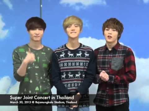EXO-M Exclusive Clip, Super Joint Concert in Thailand