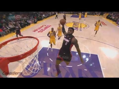 LeBron James Top 10 Dunks 2012/2013 HD Part 1