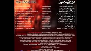 Asghar e Basheer Jaisi Qabar Hai Abbas Ki -- Mir Hasan Mir