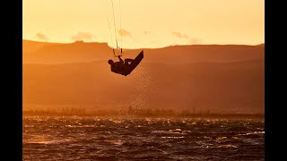 Kitesurfing in Leucate, France