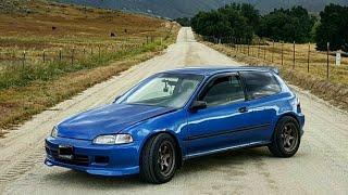 """Honda Civic """"EG"""" Hatch K24 Swap – One Take"""