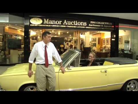 1966 PLYMOUTH VALIANT SIGNET CONVERTIBLE - Manor Auctions, December 2011